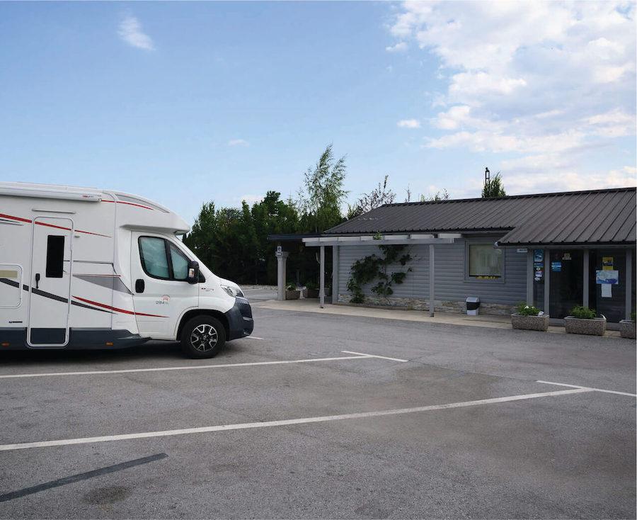 Parking - Camper Stop Ljubljana